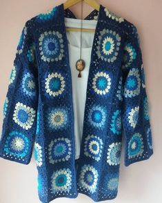 Crochet granny square gipsy h