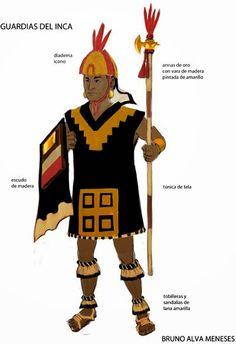 Garde de l'empereur inca