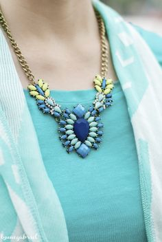 Deb Shops Statement Necklace
