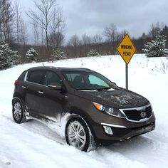 Great picture! Take us on your next adventure, Greg! The Kia Sportage.