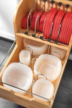 Amazon.com - Rev-A-Shelf 4FSCO-18SC-1 Food Storage Container Organizer, Natural -