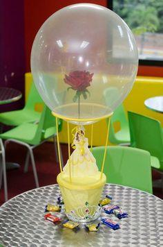 Resultado de imagen para que souvenirs puedo hacer con velas de led para fiesta de la bella y bestia
