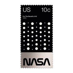 Duane Dalton / Basic Stamps / National Aeronautics and Space Administration (NASA) / Stamps / 2014 Postage Stamp Design, Postage Stamps, Typography Layout, Graphic Design Typography, Public Relations, Art Postal, E Mc2, Communication Design, Grafik Design