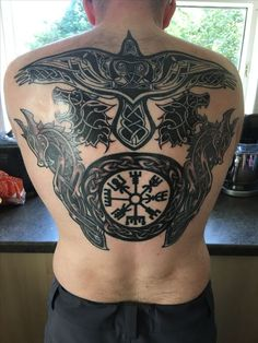 Nordic and celtic back tattoo - vikings - # . - Nordic and Celtic back tattoo – Vikings – # Back tattoo - Rune Tattoo, Norse Tattoo, Celtic Tattoos, Viking Tattoos, Thai Tattoo, Maori Tattoos, Tribal Tattoos, Back Tattoos, New Tattoos