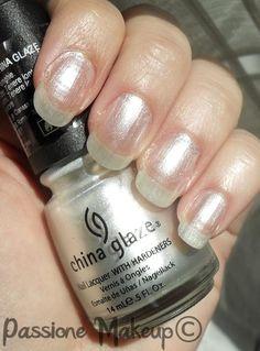 China Glaze: Platinum Pearl