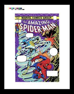 Ross Andru Amazing Spider-Man #143 Rare Production Art Cover | eBay