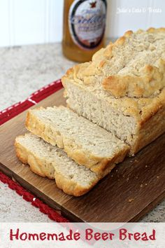 Who needs Pampered Chef's box mix when you have this recipe for Homemade Beer Bread? It's a recipe for a quick and easy beer bread that you can make anytime..