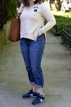 Sundry Sweatshirt in the Summer - Maggie O Prep