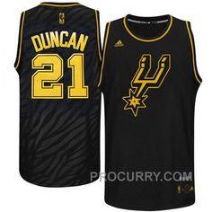 f3a986066 Spurs  21 Tim Duncan Precious Metals Jersey San Antonio Spurs