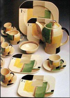Suzie Cooper Art Deco China (thankx Dr. Bob)
