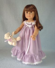 Brambleberry Cottage: Sew Crafty Friday - The Last 4 American Girl Doll Outfits