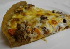 Gluten Free Taco Pizza Recipe - FOR JENN - Check out her Board of Gluten Free Food!