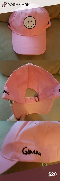 """New* Gimme Faith Smiley Hat Brand new! Reads """"Gimme Faith"""" on sides. Adjustable back.  Offers welcome! Accessories Hats"""