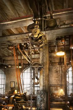 Machinist - In The Age Of Industry Photograph. Mike Savad