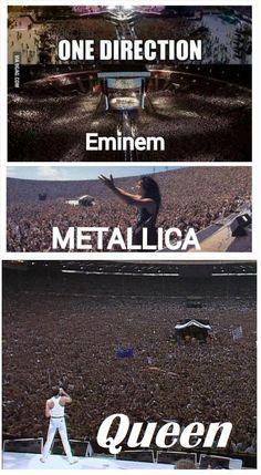 En realidad haymas gente en Metallica 💘👏