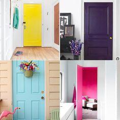 Decor: deixando sua porta de um jeito diferente