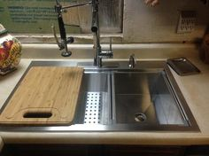 Glacier Bay Dual Mount Stainless Steel 33 In. 4 Hole Single Basin Kitchen  Sink In Satin