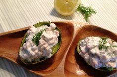 Gevulde avocado met garnalen | Francesca Kookt!
