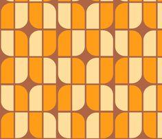 mirrah_leaf_melba fabric by holli_zollinger on Spoonflower - custom fabric