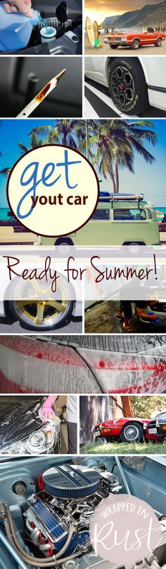 Get Your Car Ready for Summer! Car, Car Hacks, How to Prepare Your Car for Summer, Car Care Hacks, DIY Car Care, Car Maintenance Hacks, Popular Pin