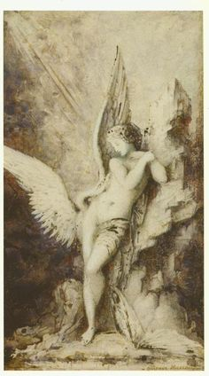 Leda and the Swan by Gustave Moreau