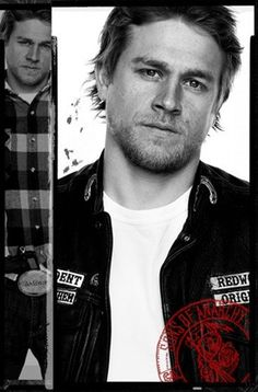 Charlie Hunnam - Sons of Anarchy - SOA - Click image to find more Celebrities Pinterest pins