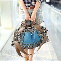 Cute boho handbag. Ships within 1.5 weeks. KINEGA Bags