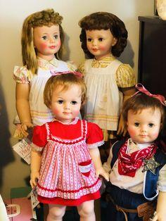 Marla's dolls 2019 Girls Dresses, Flower Girl Dresses, Ideal Toys, Beautiful Dolls, Wedding Dresses, Face, Fashion, Dresses Of Girls, Cute Dolls