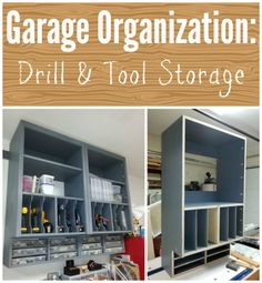 Drill & Tool Storage Unit by M.T. in the Kreg Jig® Owners' Community