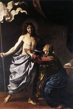 View The Risen Christ appears to the Virgin by Guercino on artnet. Browse upcoming and past auction lots by Guercino. Noli Me Tangere, Baroque Painting, Baroque Art, Italian Baroque, Catholic Art, Religious Art, Christ Is Risen, Mary Magdalene, Biblical Art