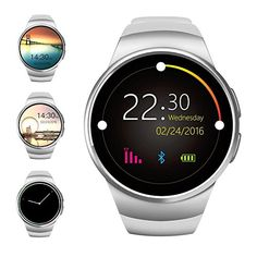 Bluetooth Smart Watch, Evershop 1.3 inches IPS Round Touch Screen Water Resistant Smartwatch Phone with SIM Card Slot, Sleep Monitor, Heart Rate Monitor and Pedometer for IOS and Android Device http://stylexotic.com/bluetooth-smart-watch-evershop-1-3-inches-ips-round-touch-screen-water-resistant-smartwatch-phone-with-sim-card-slot-sleep-monitor-heart-rate-monitor-and-pedometer-for-ios-and-android-device/