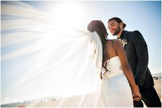 This shot is AMAZING of her veil!   Hotel Del Coronado Wedding, Photography by Bauman Photographers   View More: http://baumanphotographers.com/blog/destination-wedding-photography/2015/10/balboa-park-wedding-san-diego-ca-wedding/
