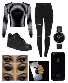 """❤"" by fashion-1407 ❤ liked on Polyvore featuring NIKE and Nixon"
