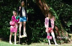 CHANEL Campaign Stars The New Generation Of Top Models