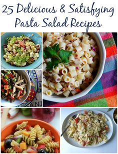 Easy Pasta Salad Recipes! 25 Delicious Pasta Recipes for Fall!