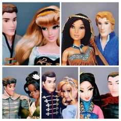 Disney Fairytale Designer Collection Limited Edition Disney Store Exclusive Dolls