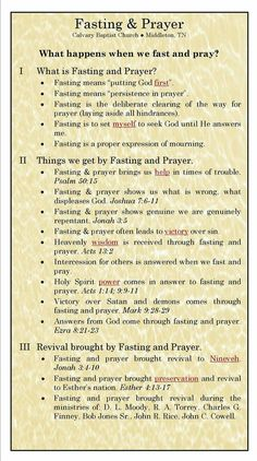 Today I have been directed to fast. Yes, God has been telling me that for quite a long time. I know He wants me to for a couple of reasons - some chains can only be broken with prayer and fasting. Prayer and fasting. Prayer Scriptures, Bible Prayers, Faith Prayer, My Prayer, Bible Verses, Prayer Room, Catholic Prayers Daily, Prayer Line, Prayer Ideas