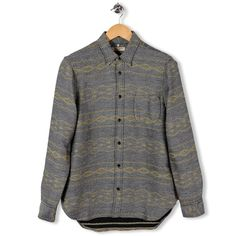 One Pocket Shirt Grey Stripe by Levi's Made and Crafted