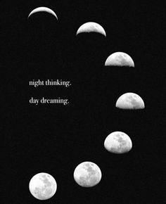 Night thinker, day dreamer ✌