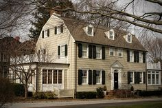 """Amityville Horror House    Location: Amityville, NY  Estimated home value: $859,000  Notable ghost: None    Although it is the least haunted home on the list, it is a notorious home that was the scene of a horrific murder in November, 1974. The Amityville Horror House is perhaps the most """"commercialized haunted house"""" in America."""