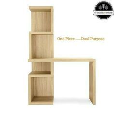 #BrandShoutOut. We are crushing on this piece of furniture and #Art from @timberworksng -  NEW PRODUCT ALERT!  This Narrow Bookshelf Desk is a unique and elegant design that will nearly have your home office or work station organized.  It can be used as a writing desk by students executives mom and dad's. Keep it in the study office kid's room or living room and brighten up any work station.  Say Enough! to those plain boring desks and bring instant style to your home with our Narrow…