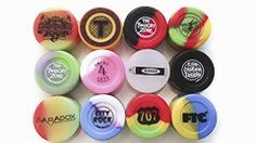 7ml Silicone - Custom Logo Containers