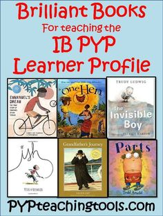 A selection of books that I love using within my IB PYP classroom.