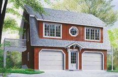 Hillock Garage avec logement 2 chambres, espace ouvert et 2 balcons privés…