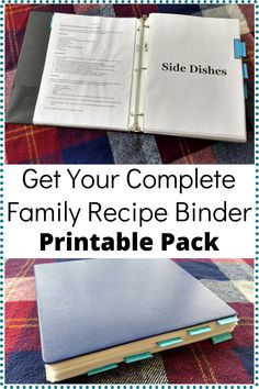 Meal prep and meal planning will become so much easier when you organize all your family recipes with this family recipe binder printable pack. Recipe Using Plain Yogurt, Tuna Noodle Casserole Recipe, Homemade Greek Yogurt, Making Hard Boiled Eggs, Making Yogurt, Healthy Tuna, What Recipe, Create A Recipe, Family Meals