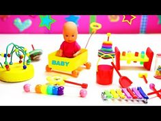 How to Make Miniature Baby Toys - 10 Easy DIY Miniature Doll Crafts - simplekidscrafts Easy Crafts For Kids, Crafts To Make, Barbie Miniatures, Craft Free, Polly Pocket, Making 10, Lalaloopsy, General Crafts, Doll Furniture