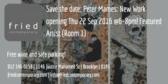 'Peter Mammes': New Work opens Thu 22 Sep @6-8pm #art #contemporary #gallery #pretoria #events #thursday #exhibition