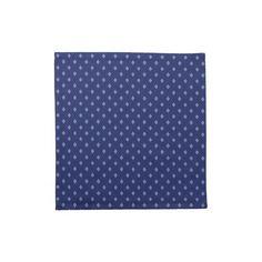 Blue Print: Cloth Napkin : Set of 4