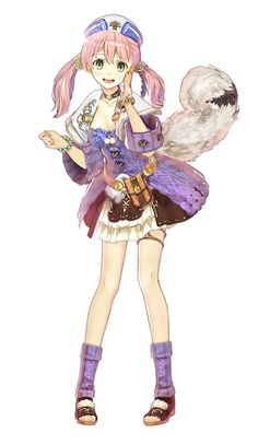 Atelier Shallie: Alchemists of the Dusk Sea Escha Malier
