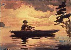 Winslow Homer Watercolors | Winslow Homer: Masterworksfrom the Adirondacks